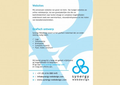 Synergy Webdesign - flyer ontwerp 02_03